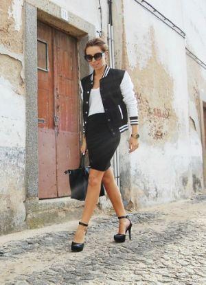 レディースコーデはブルゾンとタイトスカートがあれば完成しちゃう♡のサムネイル画像