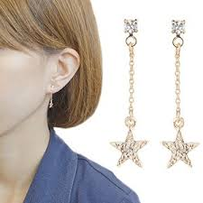 個性いろいろ、星もいろいろ。耳からあなたを輝かす星型イヤリングのサムネイル画像