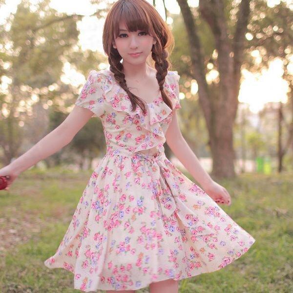 春はワンピースが可愛い♡大人可愛いワンピースコーデまとめのサムネイル画像
