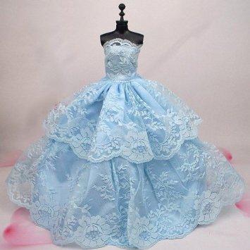 サマーシーズンにぴったりの水色ドレス‼主役でも!お呼ばれでも!のサムネイル画像
