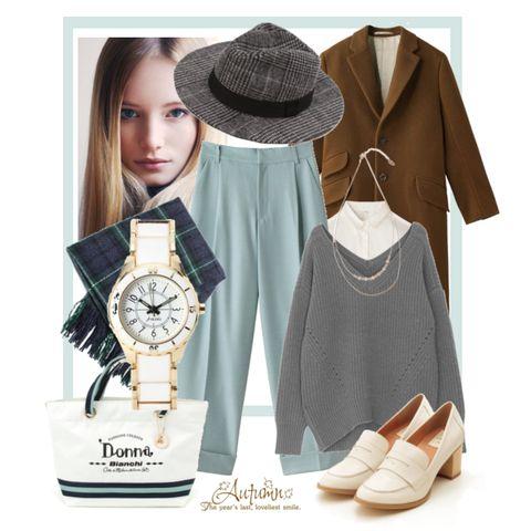 大人女子向け♡色っぽカジュアルな『Vネックセーター』の着こなし術のサムネイル画像