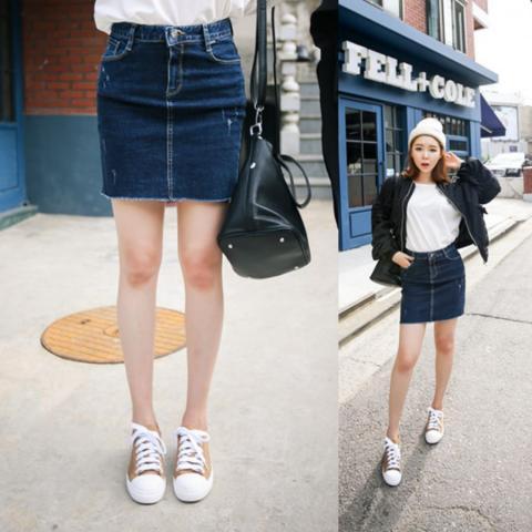 可愛いも大人っぽくもイケる!人気の台形スカートコーデをご紹介!のサムネイル画像