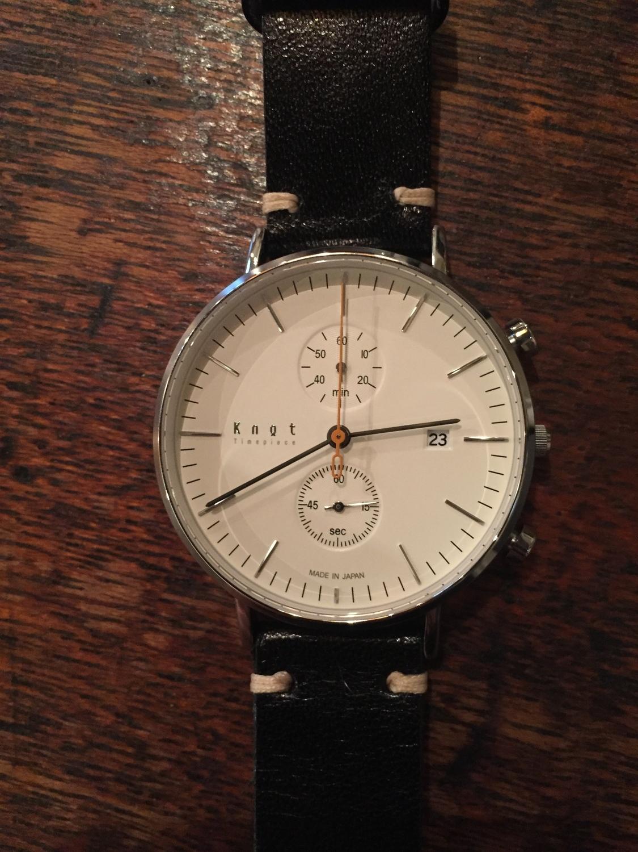 Knot(ノット)のベルトが変えられる腕時計!で毎日楽しくチェンジのサムネイル画像