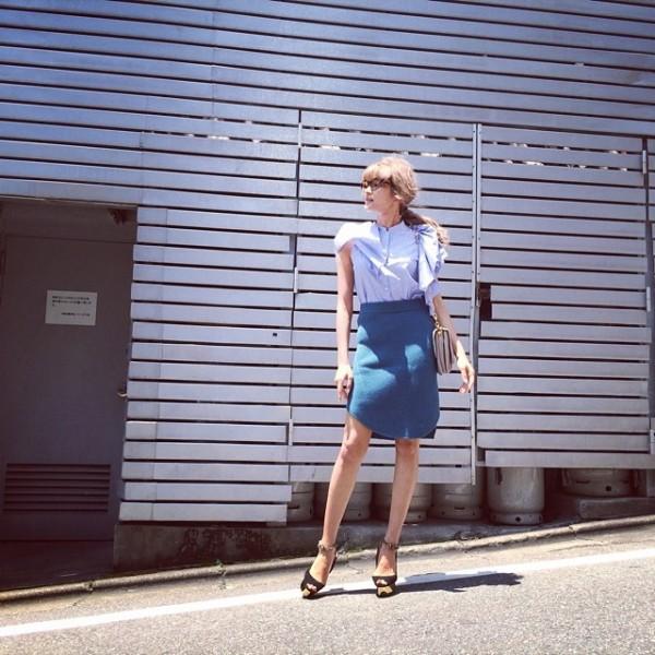 コーデ特集♡膝丈のタイトスカートで大人女子を目指しましょう♡のサムネイル画像