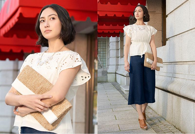 新作カゴバッグ・クラッチetc☆ジーユーのバッグで旬な夏コーデに♡のサムネイル画像