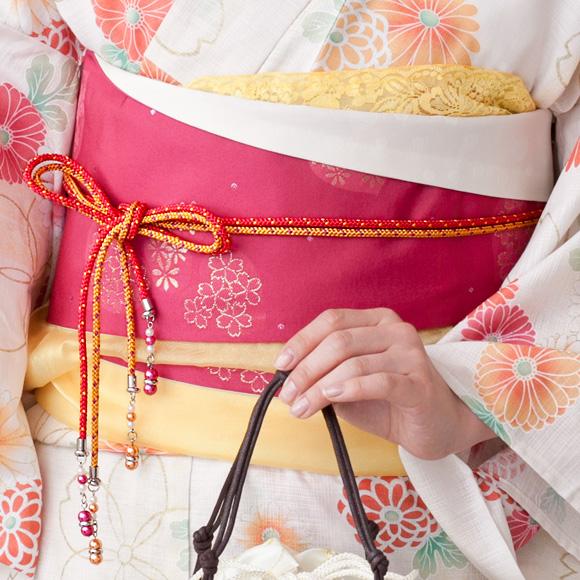 浴衣をワンランク格上げする《飾り紐》この夏挑戦してみましょう♡のサムネイル画像