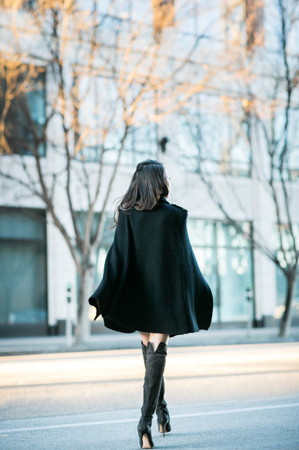 【ミリタリーポンチョ】かっこいいミリタリー風のポンチョ♡のサムネイル画像