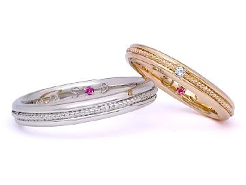 二人で作った時間も大切な思い出に★愛のこもった手作り結婚指輪♪のサムネイル画像