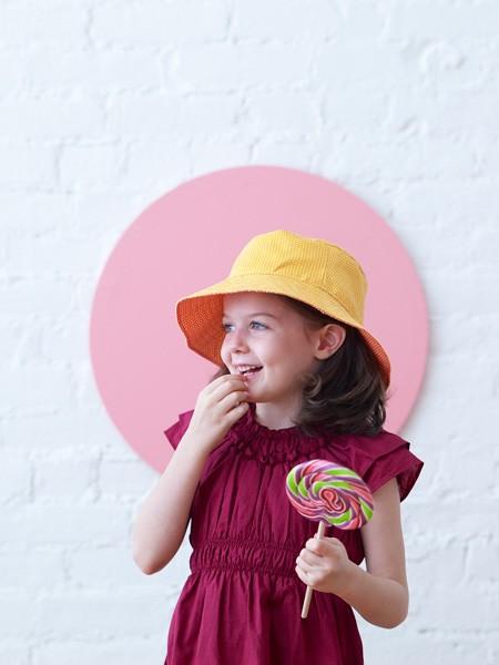 お母さんの愛情たっぷり♡お子さんの帽子を手作りしちゃお!!のサムネイル画像