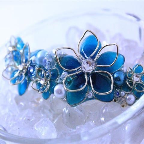 【ヘアアクセサリー】バレッタの手作りデザインがかわいい!のサムネイル画像