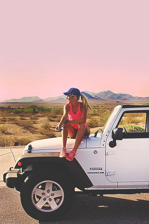 ジョギングするなら可愛いウェアー・キャップで「美ジョガー」に♪のサムネイル画像