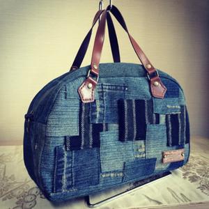旅行用から普段使いまで!手作りボストンバッグの作り方をご紹介のサムネイル画像