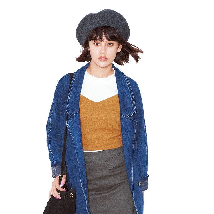 トレンドど真ん中♡キャミソールの重ね着で可愛いコーデを提案のサムネイル画像