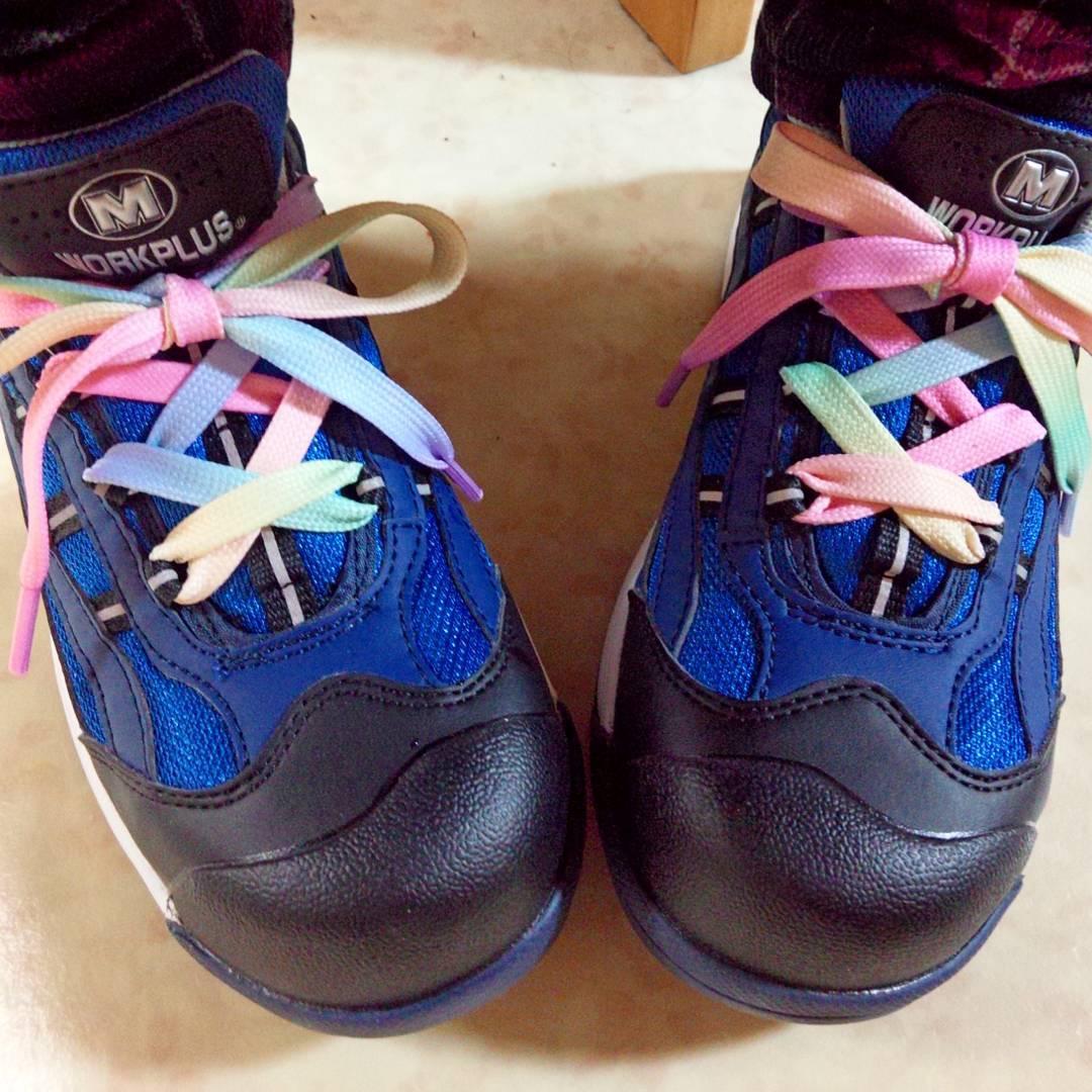 靴紐 おしゃれ 通し方