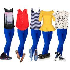 【ブルーのパンツ】夏にぴったりなブルーカラーがおすすめです。のサムネイル画像