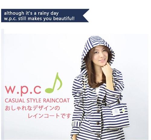 ワールドパーティー【w.p.c】のレインコートが可愛いと噂です。のサムネイル画像