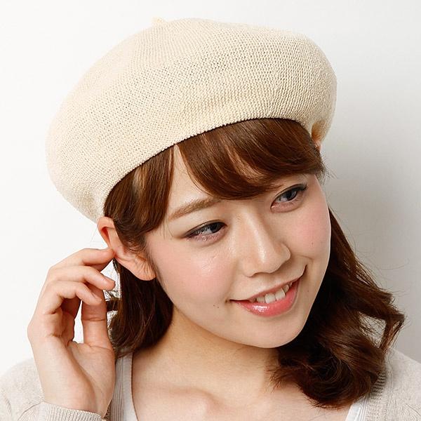 ウールだけじゃない!夏にピッタリなベレー帽を紹介します!のサムネイル画像