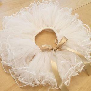 憧れドレスの作り方。ウェディングドレスとチュチュドレスを手作り♡の画像