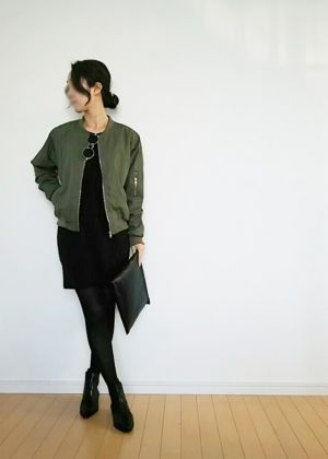 レディース ドレス 秋の新しい 長袖 スクエアネック タイト カジュアル 黒ワンピース -  安くて可愛いレディースファッション通販サイト∣fancy-style
