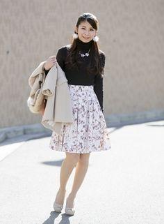 お気に入りのスカートをもっと可愛く!自分で裾上げしてみませんか?の画像