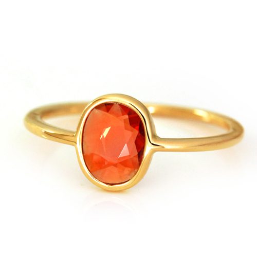 【オレンジ】カラーのリングで、元気と明るさをプラスしよう!のサムネイル画像