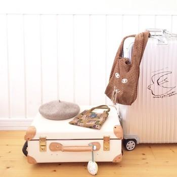 可愛い白色のキャリーバッグで旅行を楽しみたい!おすすめをご紹介!のサムネイル画像
