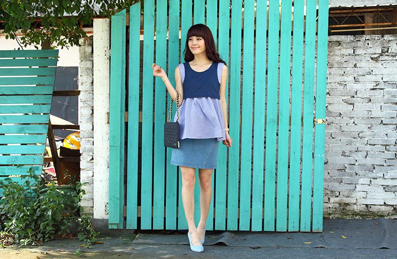 マタニティでもお洒落がしたい!可愛く履けるマタニティスカートのサムネイル画像