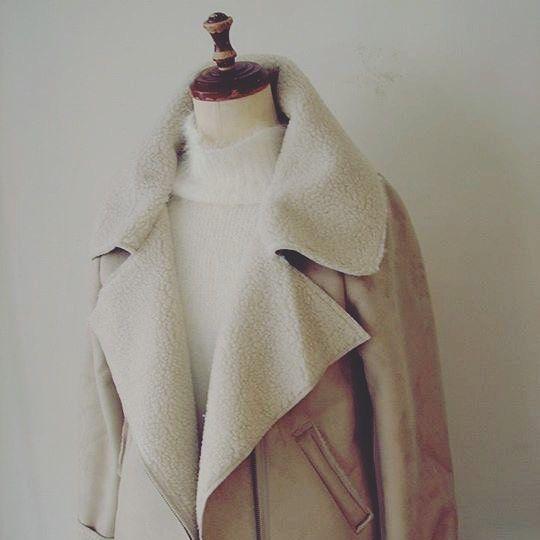 温かくてお洒落な【ベージュのレディースコート】をセレクト!のサムネイル画像