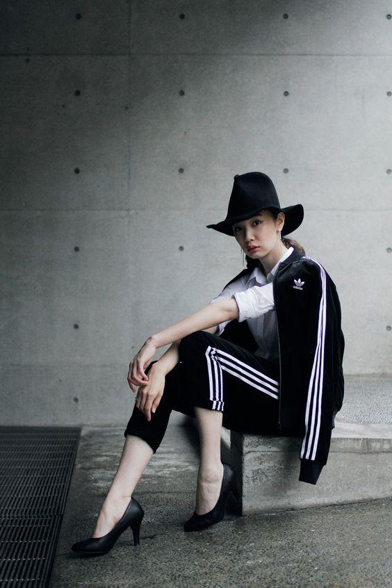 もう中学生なんて言わせない!可愛いジャージの着方とコーデ集のサムネイル画像