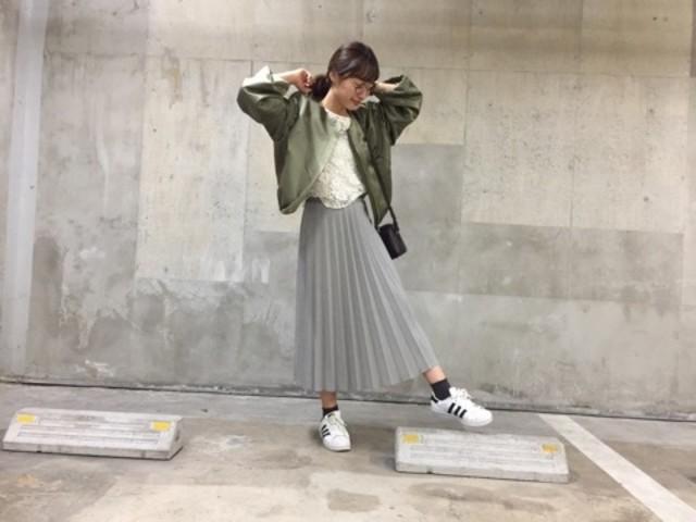 女を楽しむ♡【ユニクロのプリーツスカート】トレンドコーデ大集合!のサムネイル画像