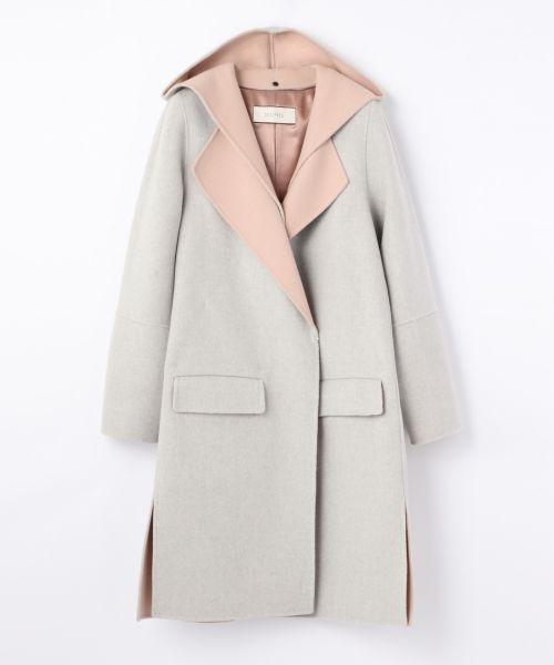 今年はフード付きコートで、大人可愛いレディースコーデを楽しもう!のサムネイル画像