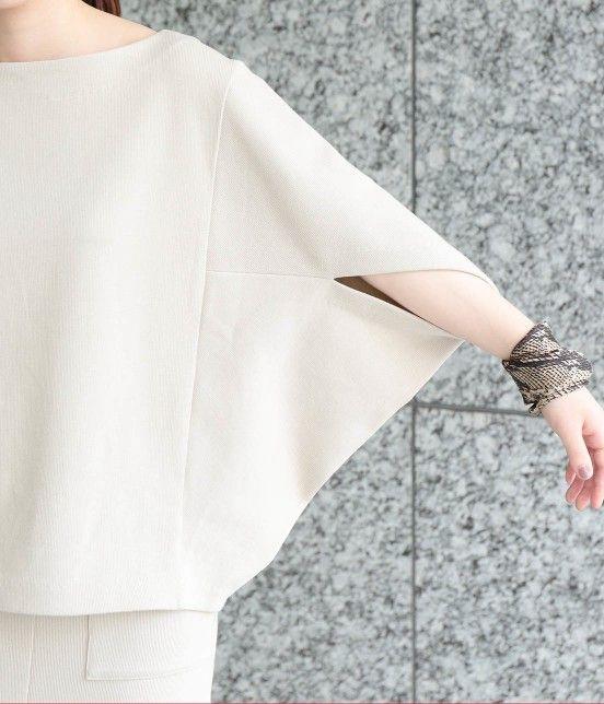 【7分袖のカットソー】はたくさんあるとコーデの幅も広がりそう!のサムネイル画像