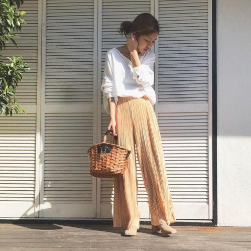 まだまだ流行継続!【2017年春のトレンドプリーツ】は、スカートだけじゃない♡ のサムネイル画像