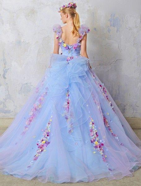 結婚式だからこそ着たい!乙女チックな可愛いウェディングドレスのサムネイル画像