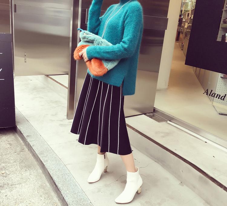 春にぴったりのアイテム♡ストライプスカートで着まわし上手に!のサムネイル画像
