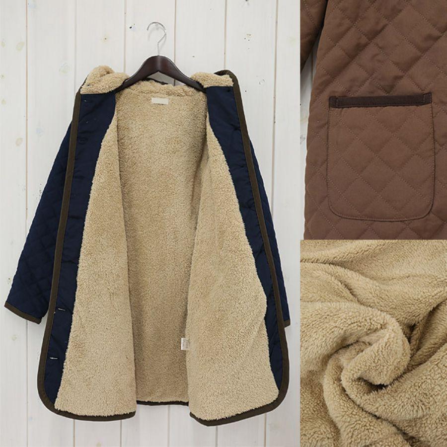 独特の風合いで人気!要チェック♪レディースのキルティングコートのサムネイル画像