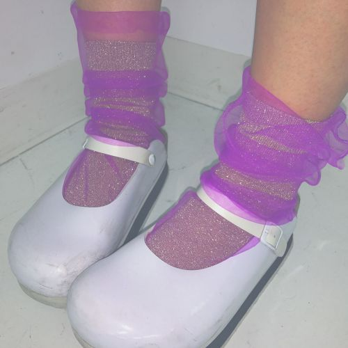 次にくる靴下《チュールソックス》♡おしゃれさんはこう合わせる!のサムネイル画像