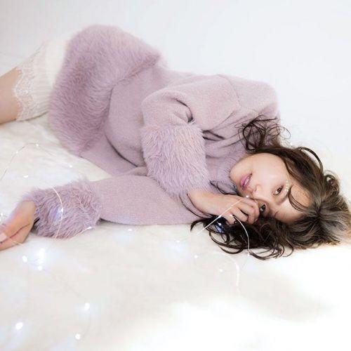 もこもこは冬の特権♡【ニットセットアップ】でゆるふわコーデのサムネイル画像
