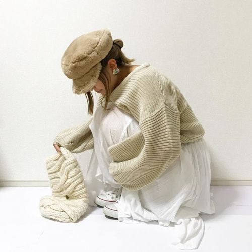 冬だから思いきって!【ワントーンコーデ】で新しい私になろう♡のサムネイル画像