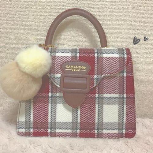 バッグ×〇〇が斬新! 【サマンサベガ】のバッグが可愛すぎる♡のサムネイル画像
