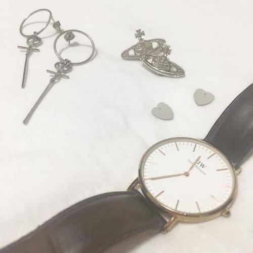 毎日一緒だから。私らしさアピールする【腕時計】にこだわりましょ♡のサムネイル画像