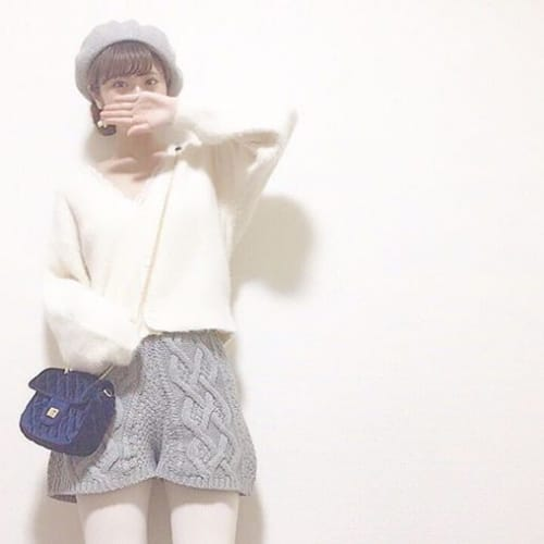 胸きゅん度MAX!冬限定【レースタイツ】の甘々コーデに夢中♡のサムネイル画像
