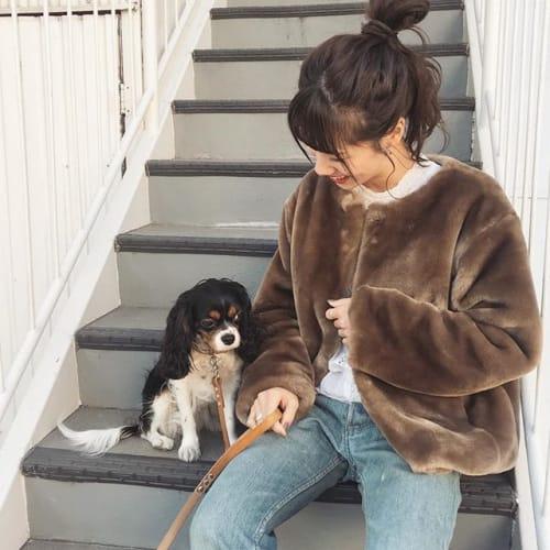 インスタで話題!韓国【OHOTORO】のファーコートがゆめかわ♡のサムネイル画像