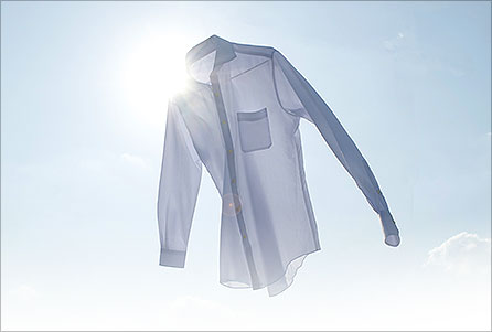 Yシャツを家で洗濯しよう!~しわになりにくいYシャツの洗濯方法のサムネイル画像