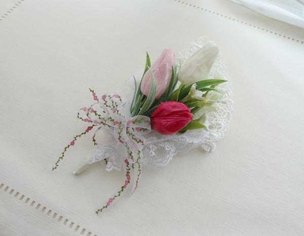 冠婚葬祭の必需品コサージュを生花のようなプリザーブドフラワーで!のサムネイル画像