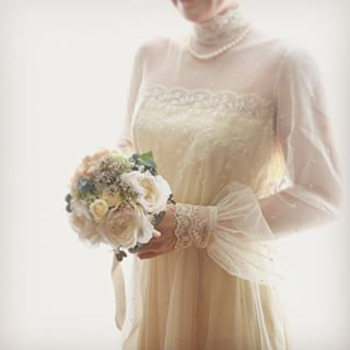 こんなドレスで嫁ぎたい!ヴィンテージウエディングドレスが大人気!のサムネイル画像