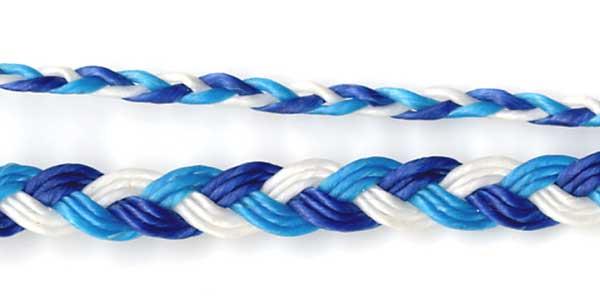 簡単に出来るミサンガの編み方☆三つ編みでミサンガ作り!☆のサムネイル画像