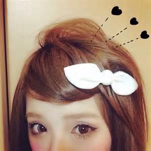前髪アレンジ♡簡単可愛いヘアピンアレンジの画像を集めました!のサムネイル画像