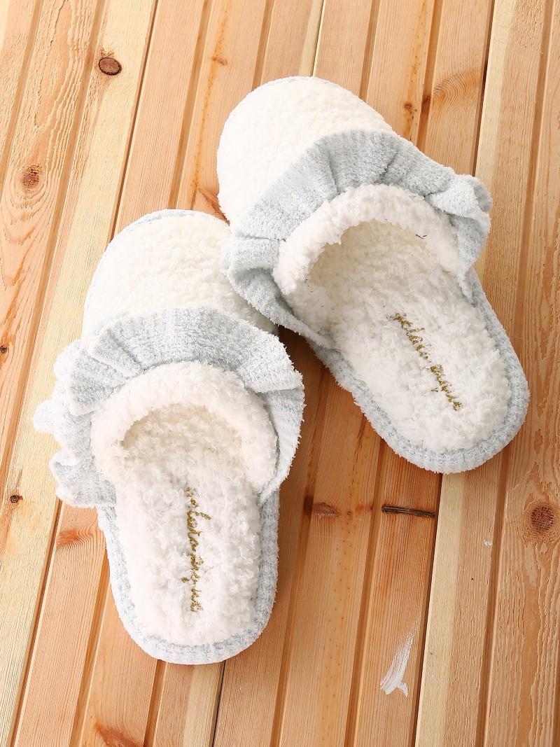 冬の寒さ対策にも☆お家に帰るのが楽しくなるおしゃれスリッパのサムネイル画像