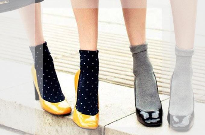 かわいい靴下大集合!靴下のかわいい着こなし方も合わせてご紹介♪♪のサムネイル画像